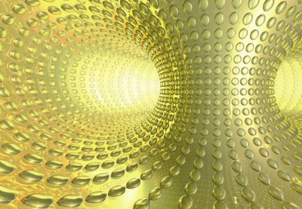 Fototapete Nr. 9465 - Golden Tunnel