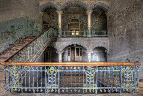 Fototapete Nr. 3829 - Villa Antique - Empore II