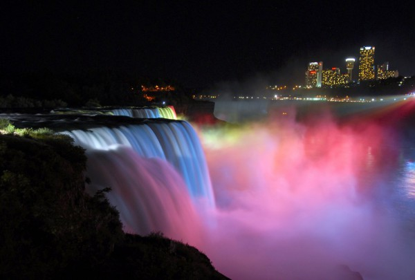 Fototapete Nr. 4029 - Niagara Falls at Night