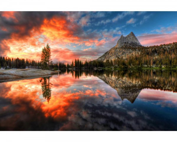 Fototapete Nr. 4038 - Cathedral Lake