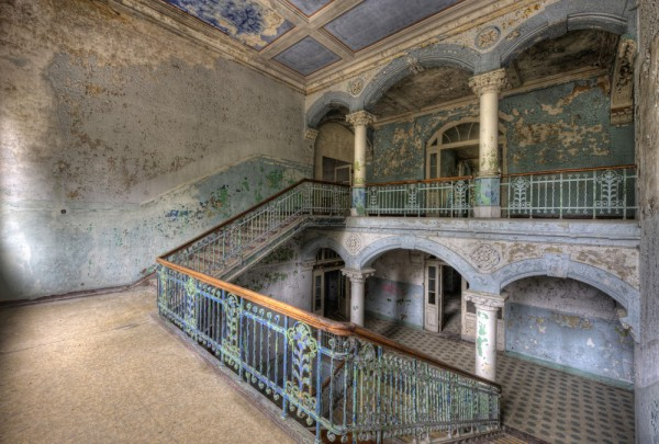 Fototapete Nr. 3626 - Villa Antique - Empore IV