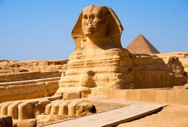 Fototapete Nr. 3319 - Große Sphinx Pyramide