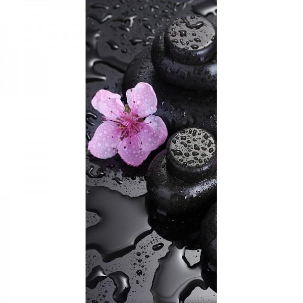 Türtapete Nr. 3817 - Spa & Sakura Flowers