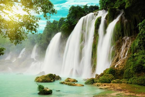 Fototapete Nr. 4507 - Amazonas Falls
