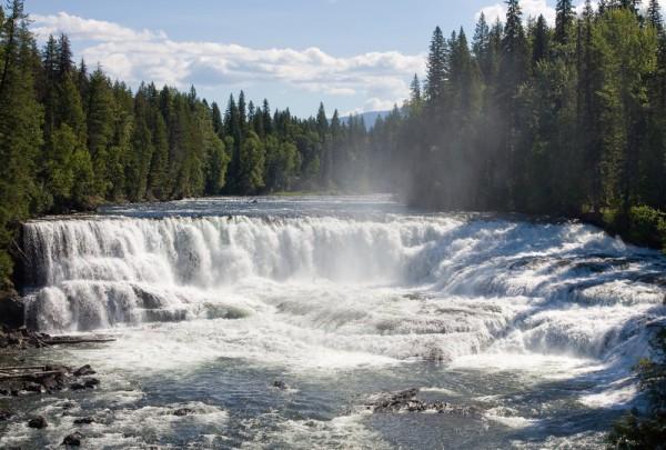 Fototapete Nr. 4034 - Dawson Falls