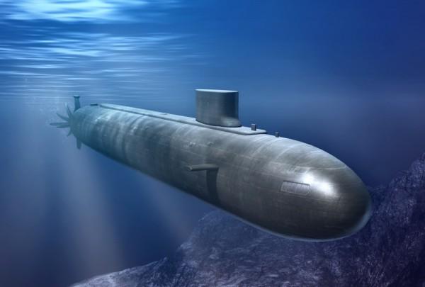 Fototapete Nr. 3269 - Atom-U-Boot
