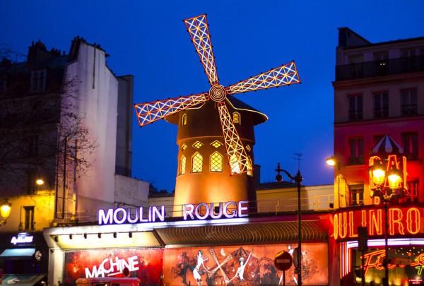 Fototapete Nr. 3342 - Moulin Rouge