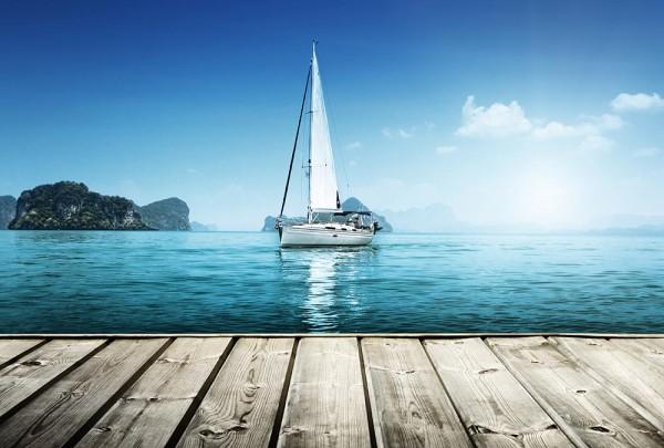 Fototapete Nr. 3215 - Ein Tag am Meer