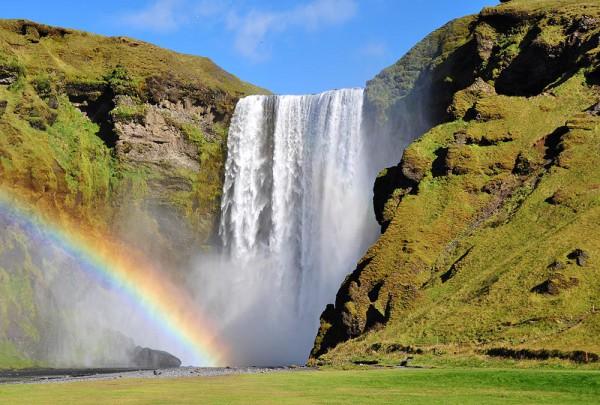 Fototapete Nr. 3426 - Skogafoss Iceland