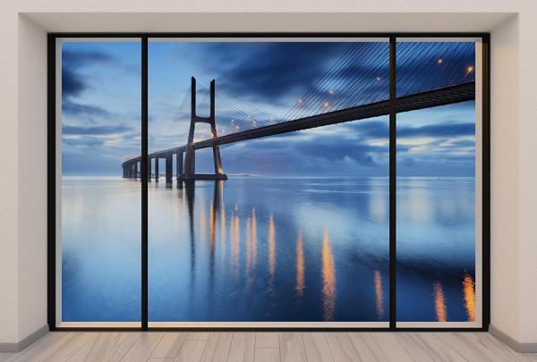 Fototapete Nr. 2971 - Penthouse Ponte Vasco da Gama