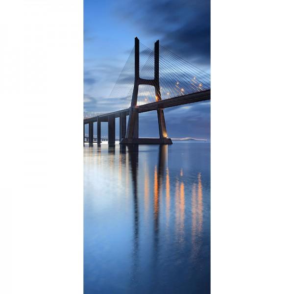 Türtapete Nr. 3111 - Ponte Vasco da Gama