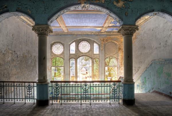 Fototapete Nr. 3922 - Villa Antique - Empore