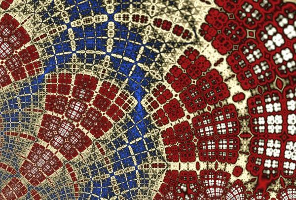 Fototapete Nr. 3308 - Fractal mosaic
