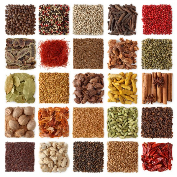 Fototapete Nr. 3887 - Indian spice collection