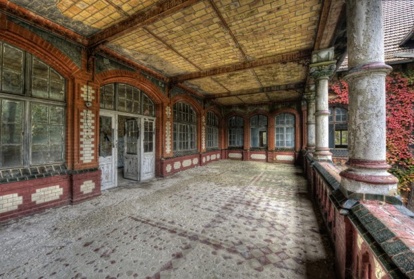 Fototapete Nr. 3628 - Villa Antique - Veranda