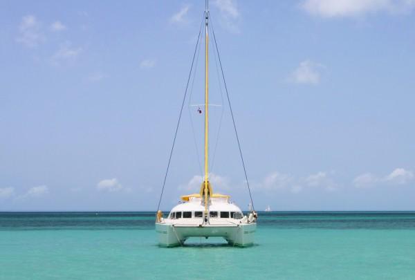 Fototapete Nr. 3705 - Caribbean catamaran