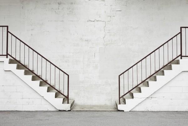 Fototapete Nr. 3896 - Trepp' auf Trepp' ab