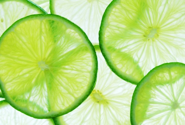 Fototapete Nr. 3095 - Lime slices