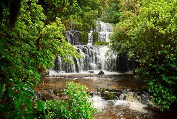 Fototapete Nr. 4035 - Purakaunui Falls