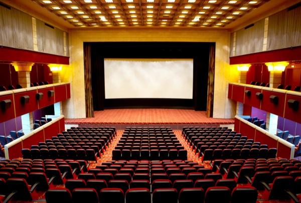 Fototapete Nr. 3821 - Im Kino