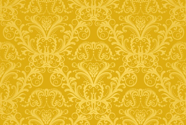 Fototapete Nr. 3935 - Golden Pattern