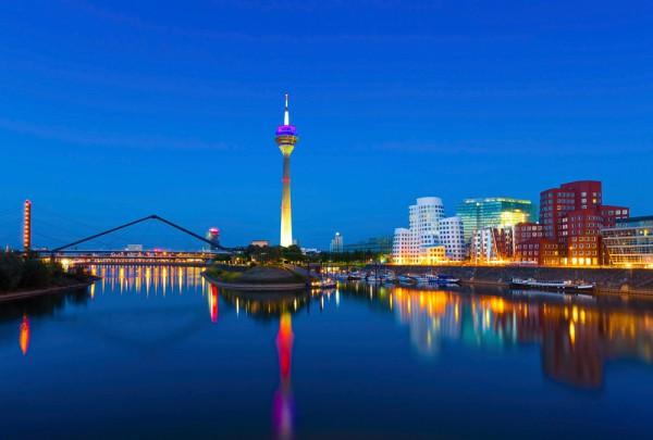Fototapete Nr. 3654 - Düsseldorf