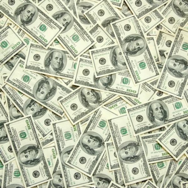 Fototapete Nr. 3432 - One Billion Dollar