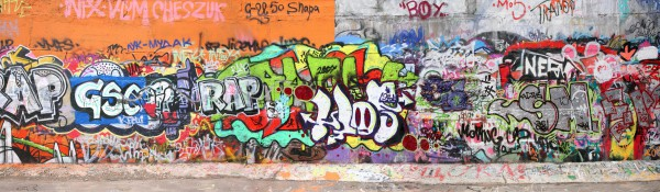 Panoramatapete Nr. 4533 - Graffiti