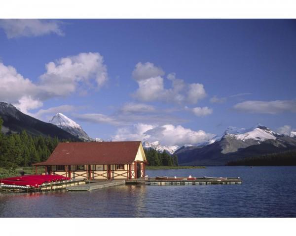 Fototapete Nr. 4005 - Maligne Lake