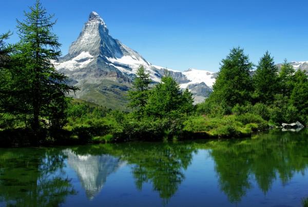 Fototapete Nr. 3869 - Matterhorn