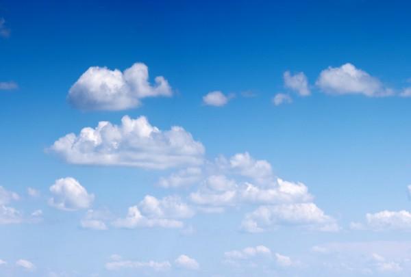 Fototapete Nr. 3183 - Sky & white clouds