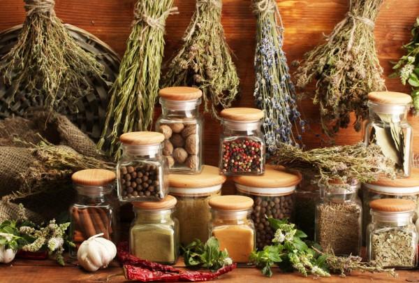 Fototapete Nr. 3611 - Dried herbs