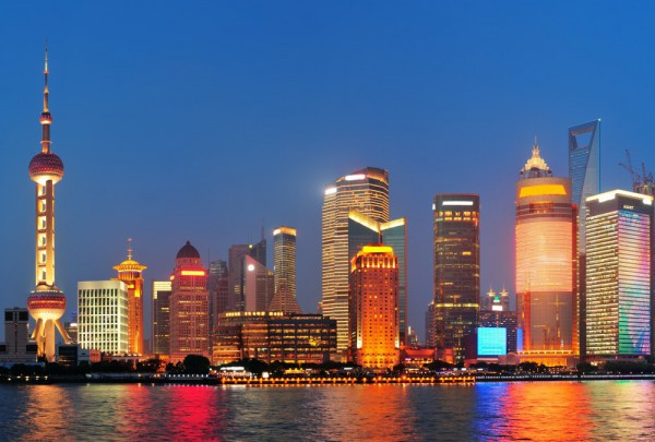 Fototapete Nr. 3564 - Shanghai Skyline