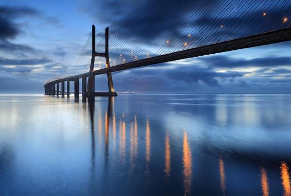 Fototapete Nr. 3111 - Ponte Vasco da Gama