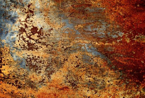Fototapete Nr. 3783 - Rusty iron I