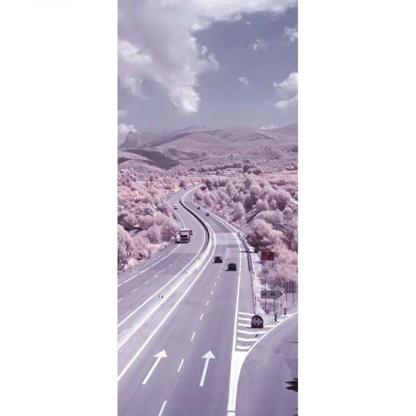 Türtapete Nr. 3142 - Highway infrarot
