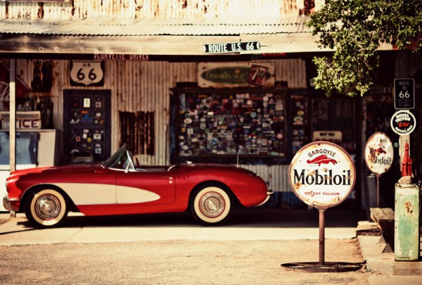 Fototapete Nr. 3187 - Route 66 - Hackberry General Store, Arizona