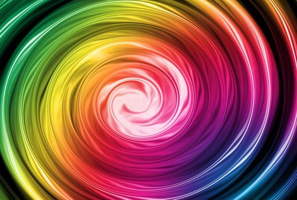 Fototapete Nr. 3702 - Rainbow spectrum