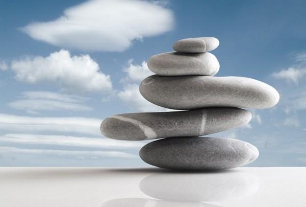 Fototapete Nr. 4413 - Stone Balance