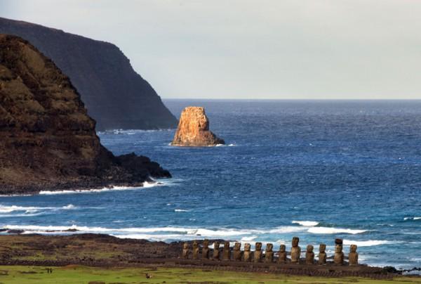 Fototapete Nr. 3854 - Rapa Nui, Osterinsel