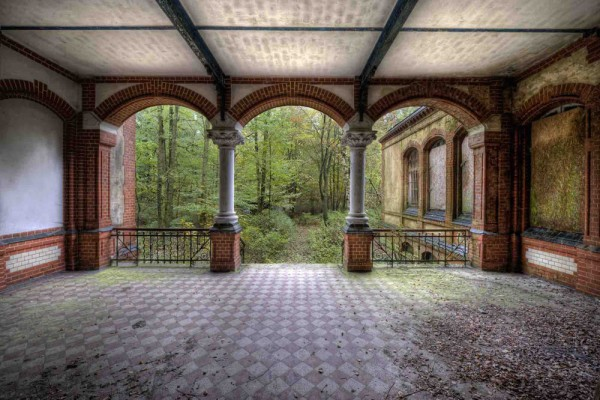 Fototapete Nr. 4192 - Villa Antique - Terrasse