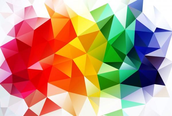 Fototapete Nr. 3357 - Polygons