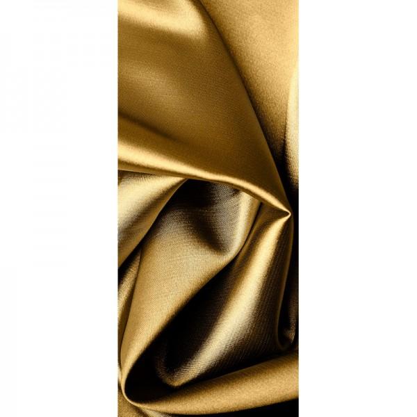 Türtapete Nr. 3280 - Samt & Seide in gold