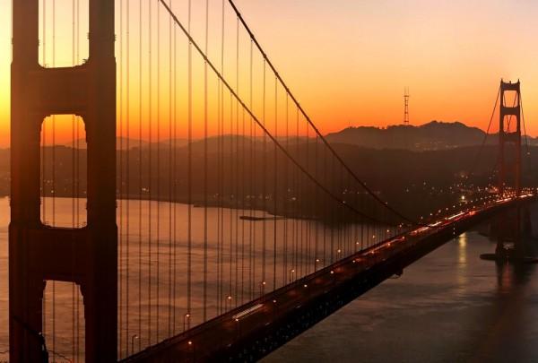 Fototapete Nr. 3288 - San Francisco Bay