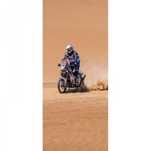 Türtapete Nr. 3558 - Desert Bike