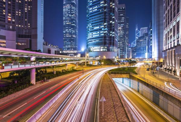 Fototapete Nr. 3444 - Hongkong Traffic