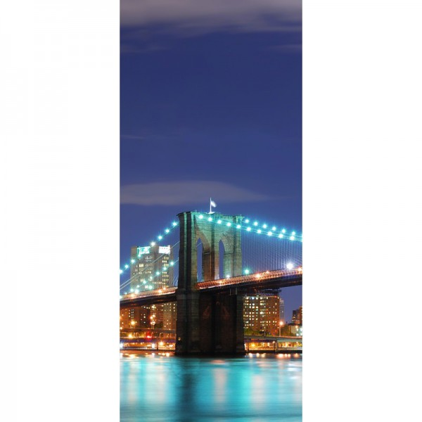 Türtapete Nr. 3561d - N.Y.C. Brooklyn Bridge