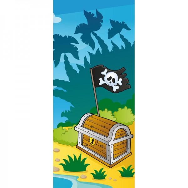 Türtapete Nr. 3580a - Das Versteck der Piraten