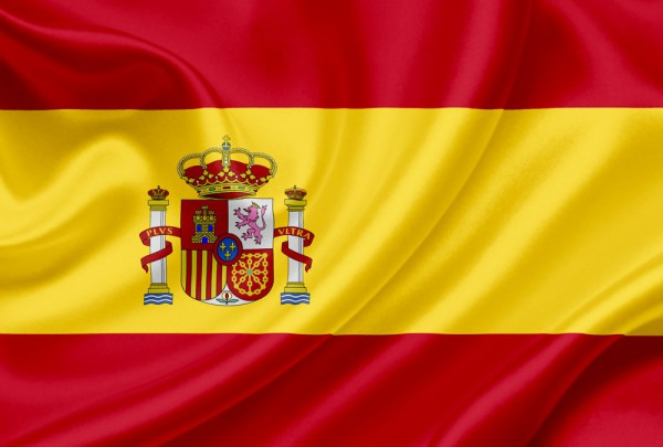 Fototapete Nr. 3156 - Flagge Spanien