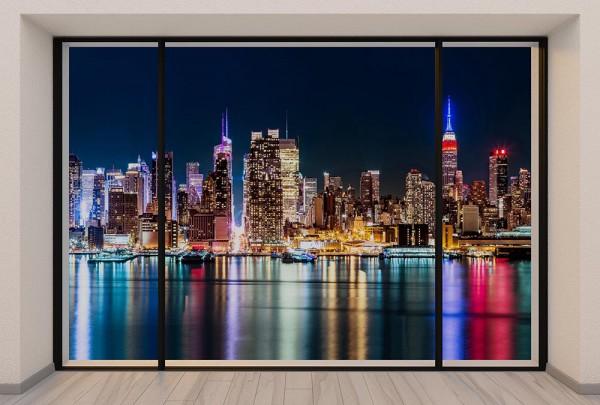 Fototapete Nr. 2984 - Penthouse N.Y.C. Midtown Skyline